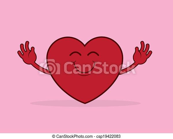 Heart Hug Reach - csp19422083