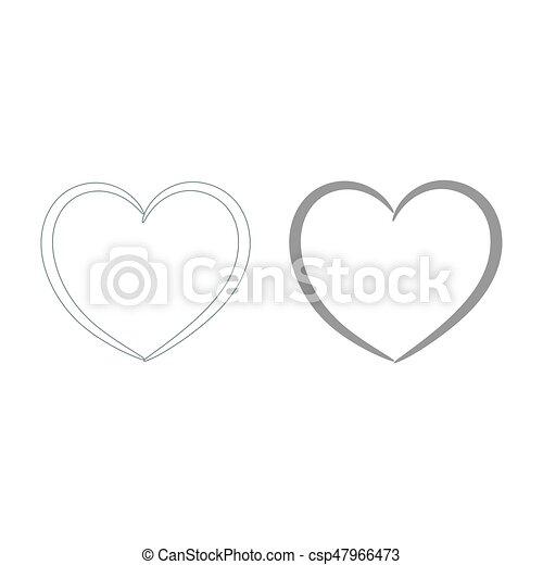 Heart - csp47966473