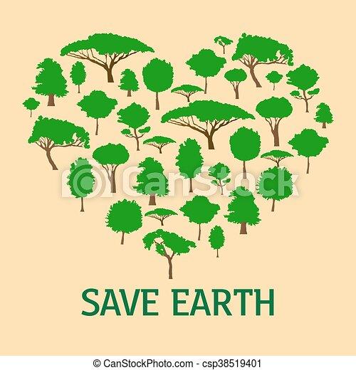 save nature save earth