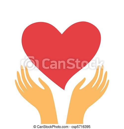 heart-in-hands - csp5716395