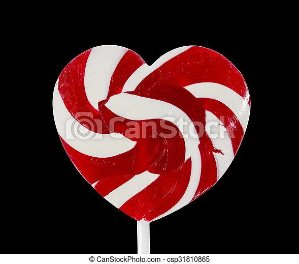 heart lollipop - csp31810865