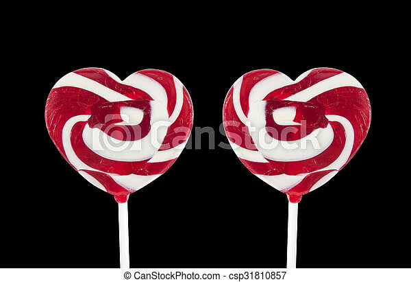 heart lollipop - csp31810857