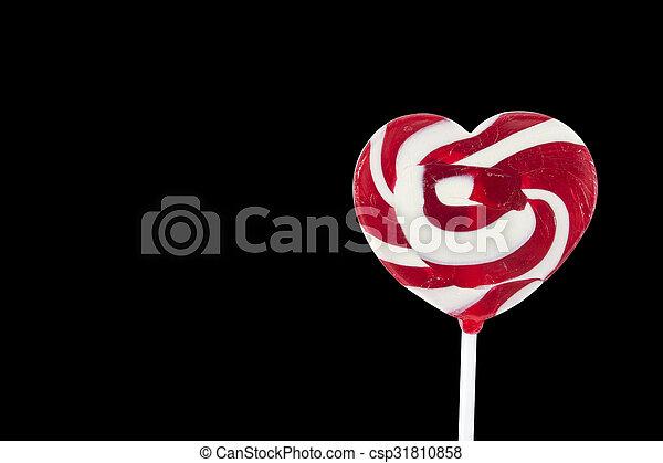 heart lollipop - csp31810858