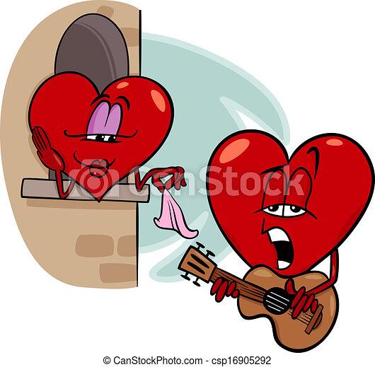 heart love song cartoon illustration cartoon illustration eps rh canstockphoto com