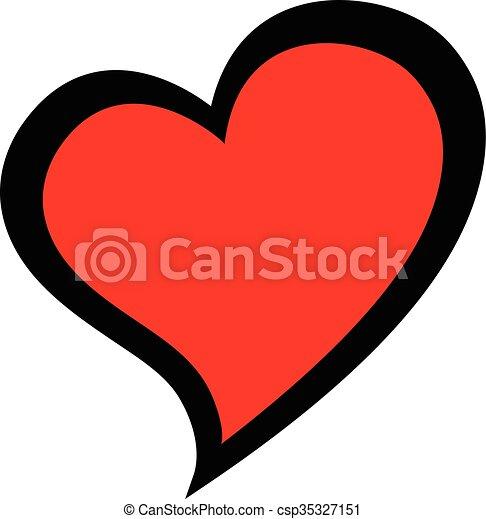 heart love symbol vector icon clipart vector search illustration rh canstockphoto com heart icon vector free download heart icon vector png