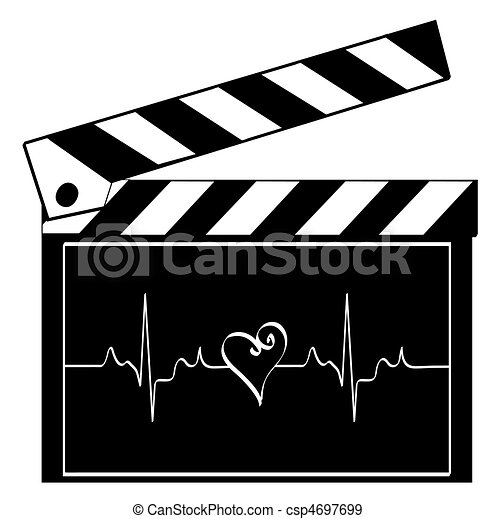 heart of entertainment industry - csp4697699