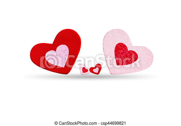 Heart on a white background. - csp44699821