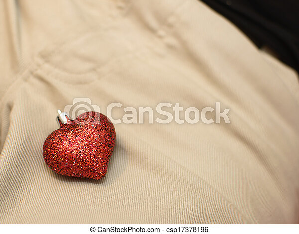 heart on the jeans - csp17378196