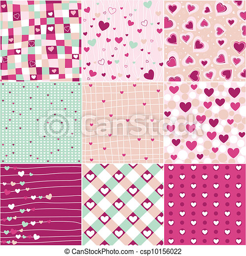 heart patterns - csp10156022