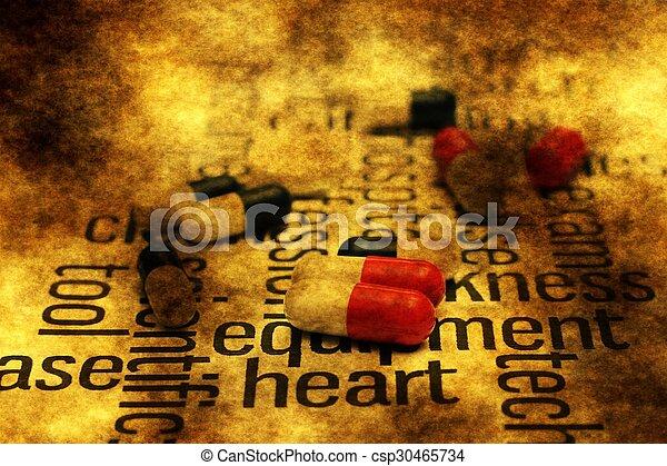 Heart pills - csp30465734