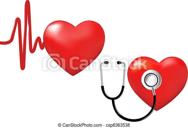 Heart Set - csp6363538