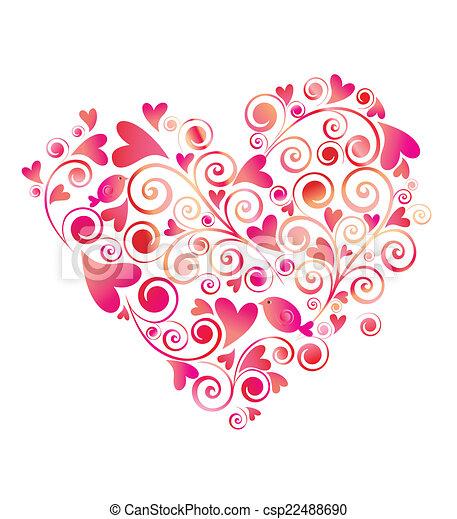 Heart shape - csp22488690
