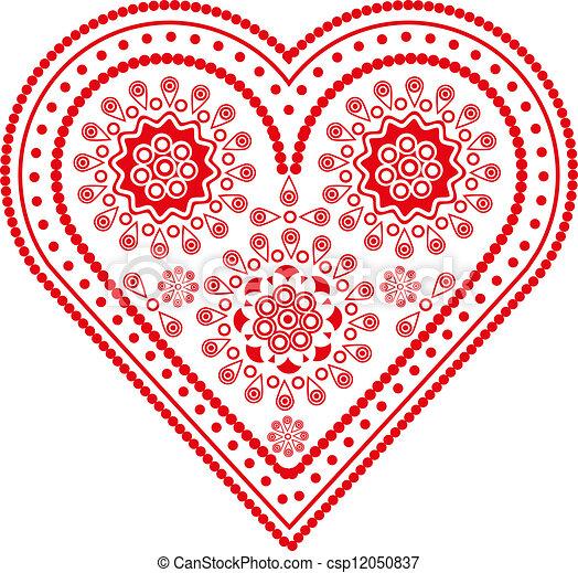 heart shaped figure - csp12050837