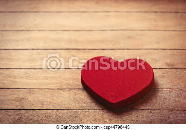 heart shaped toy - csp44798443