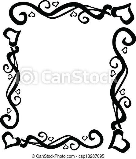 heart swirl border vector eps vectors search clip art rh canstockphoto com swirl vector free spiral vector art