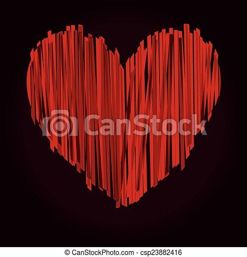 Heart - csp23882416