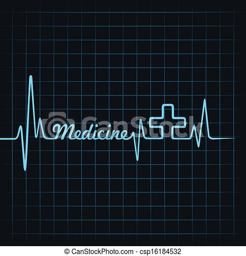 Heartbeat make hygiene word  - csp16184532
