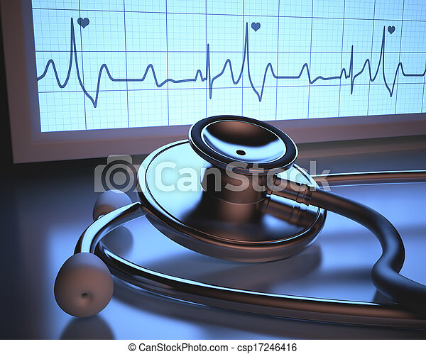 Heartbeat Monitor - csp17246416