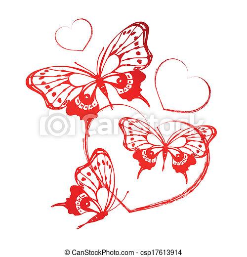 hearts design - csp17613914