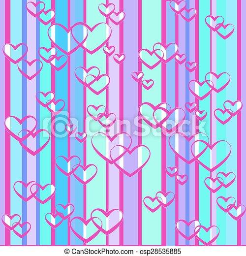 hearts - csp28535885