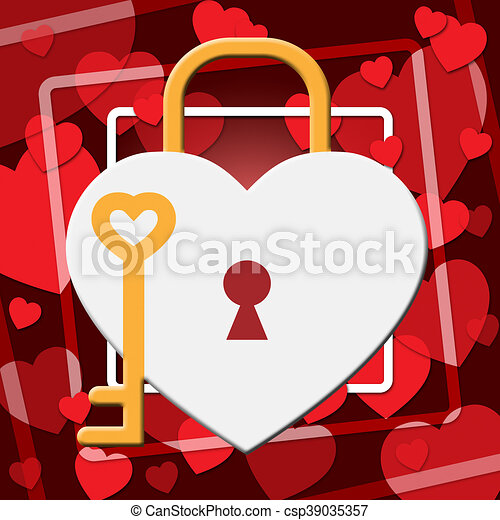 hearts lock indicates in love and adoration hearts lock
