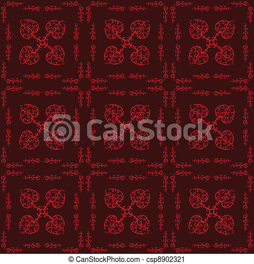 Hearts Seamless Pattern - csp8902321