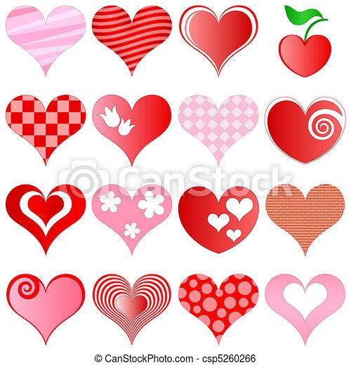 hearts set - csp5260266