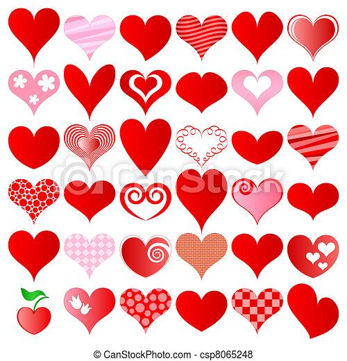 hearts set - csp8065248