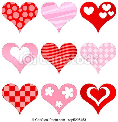 hearts set - csp5205453