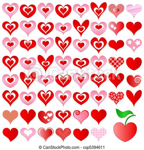 hearts set - csp5394611