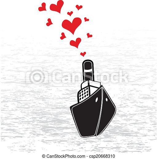 hearts., steamship - csp20668310