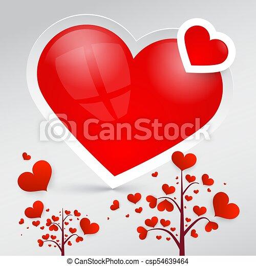 Hearts. Vector Heart Symbols. - csp54639464