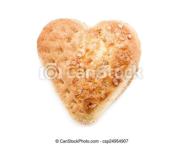 Heartshape Cookie - csp24954907