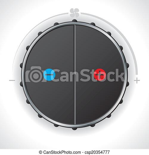 Heat controller gauge - csp20354777
