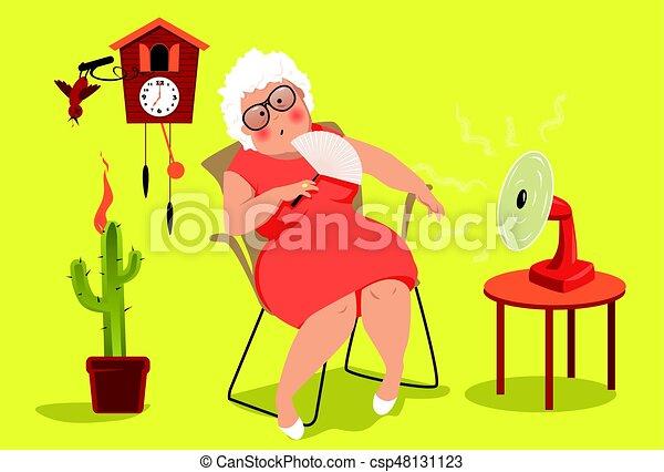 Heat exhaustion danger - csp48131123