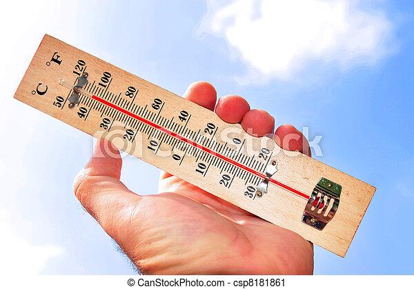 Heat Wave High Temperatures - csp8181861