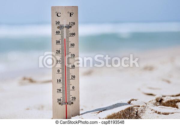 Heat Wave High Temperatures - csp8193548