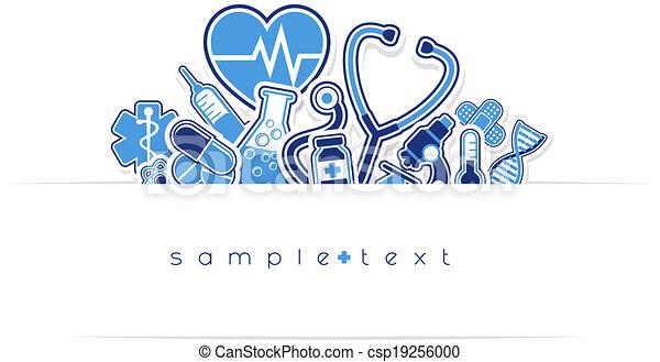 heath care and medical design - csp19256000
