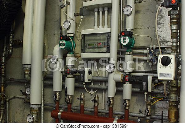 Heating system manometer - csp13815991