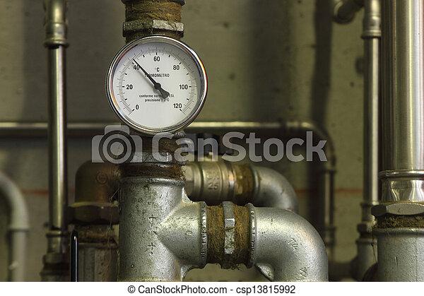 Heating system manometer - csp13815992