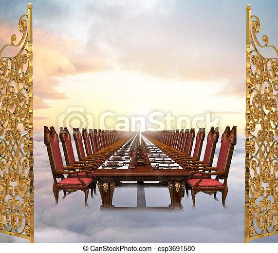 Heavenly Banquet - csp3691580