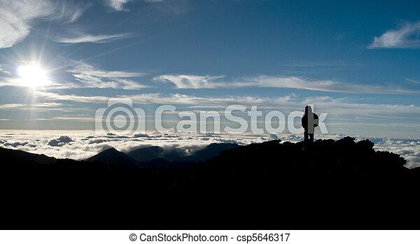 heavenly, nuvens, céu - csp5646317