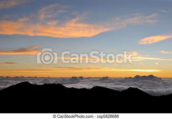 heavenly, nuvens, céu - csp5828688
