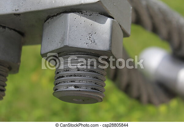 Heavy duty bolts and nuts