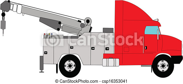 heavy duty tow truck - csp16353041