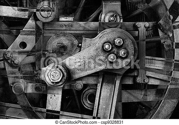 heavy machinery - csp9328831