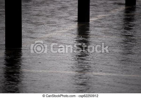 Heavy rain - csp62250912