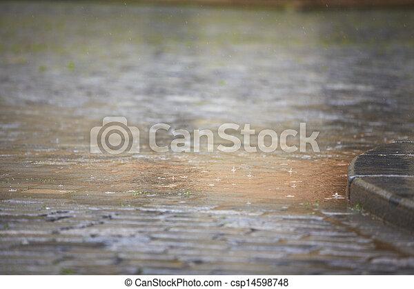 Heavy rain - csp14598748