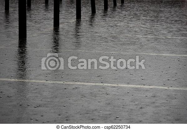 Heavy rain - csp62250734