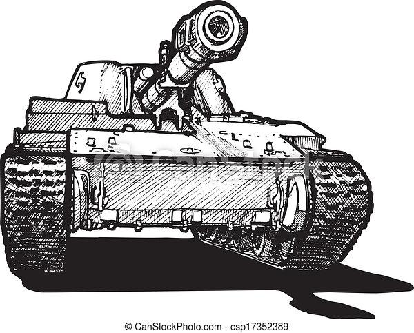 heavy tank - csp17352389